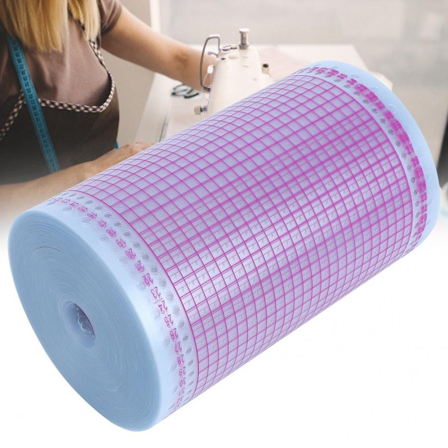100pcs/roll Red Transparent Punch Card 24 Stitches Knitting Machine Accessories
