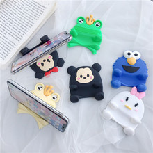 Universal Phone Holder Cute Cartoon Anti-Slip Minnie Stand Mobile Bracket for iPhone XiaoMi Huawei