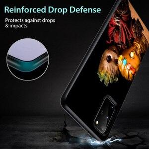 Image 5 - حافظة هاتف من مارفل أفنجرز سوبر هيرو جروت لهواتف سامسونج جالاكسي A31 A51 A71 A91 A12 A32 A42 A52 A72 A02S حافظة هاتف من السيليكون الناعم باللون الأسود