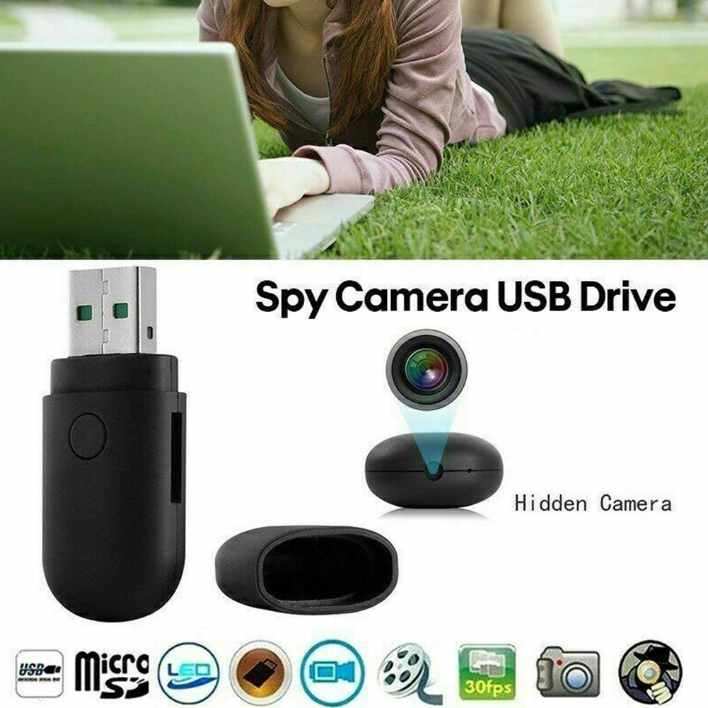 DishyKooker Mini Round Head USB 2.0 U Disk Motion Detect Camera Monitor 1280*960 Without WIFI
