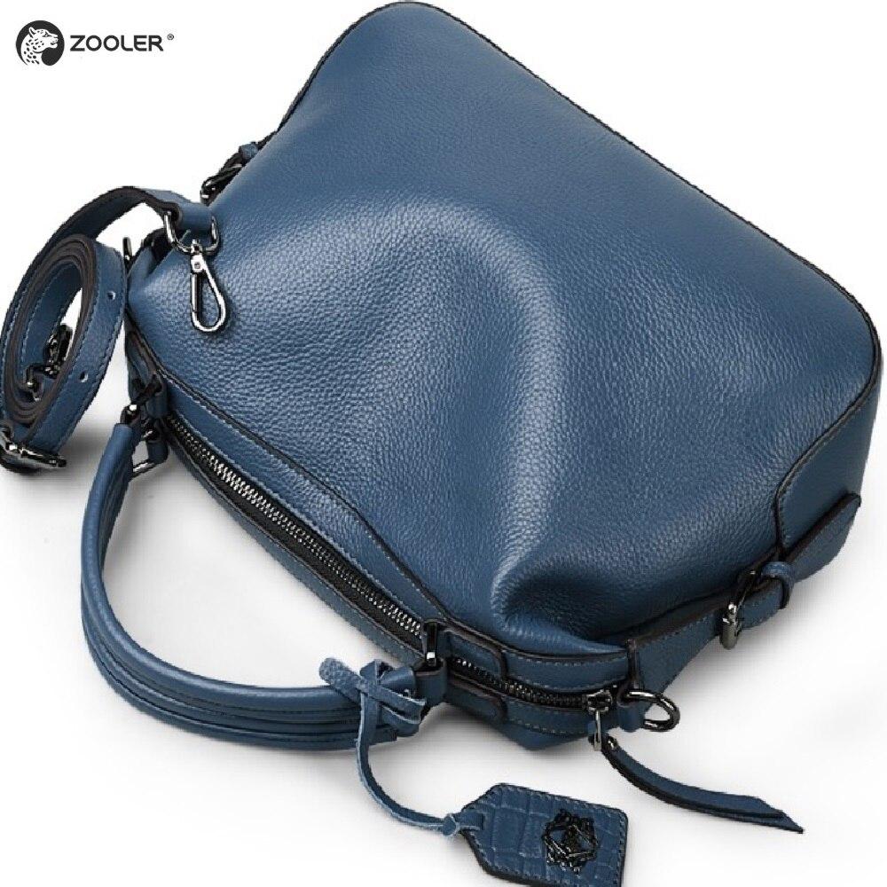 ZOOLER 2019? Ten produkt został specjalnie zaprojektowany, miękkie torby z prawdziwej skóry kobiet torebki skórzane marki luksusowe torba na ramię panie torba na drobiazgi Bolsa Feminina w Torby z uchwytem od Bagaże i torby na  Grupa 2