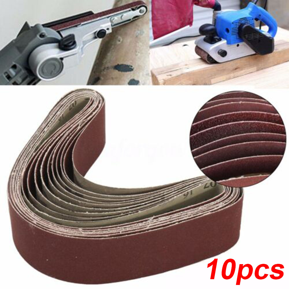 Metal Sanding Belt Sandpaper Polishing Sanding Pad Set 60 120 150 240 Grit 686*50 Mm For Portable Electric Belt Grinders