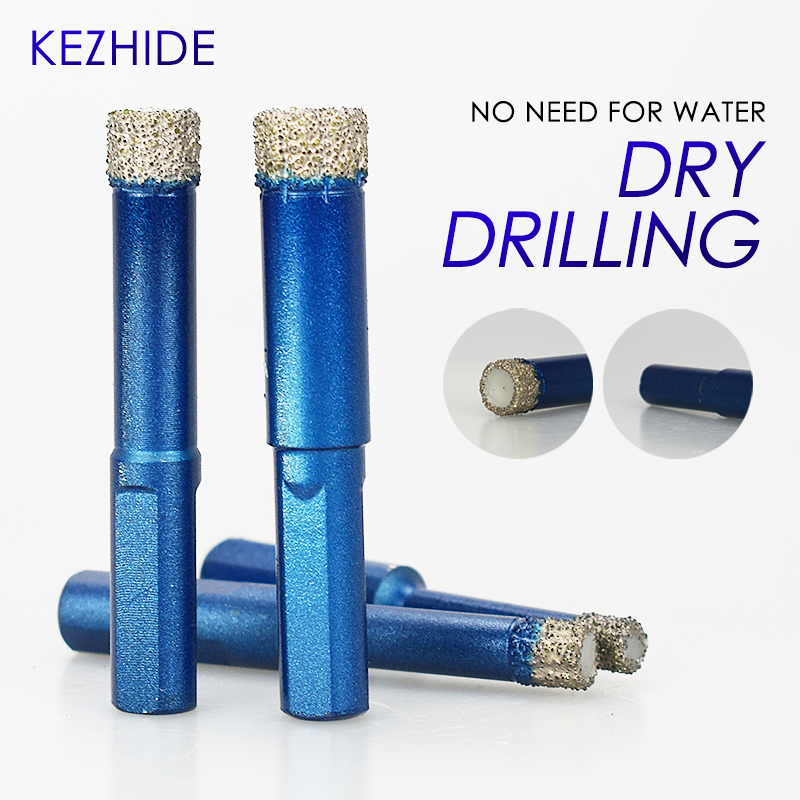 Diamond Coated Drill Bit Set 6mm 8mm10mm 12mm  Tile Marble Glass Ceramic Hole Saw Marble Cutter Drilling Bit Power Tool  Drill