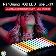 NanGuang NANLITE LED Tube de Pavo lumière 15C 30C rvb couleur photographie lumière bâton de lumière de poche pour Photos vidéo film Vlog