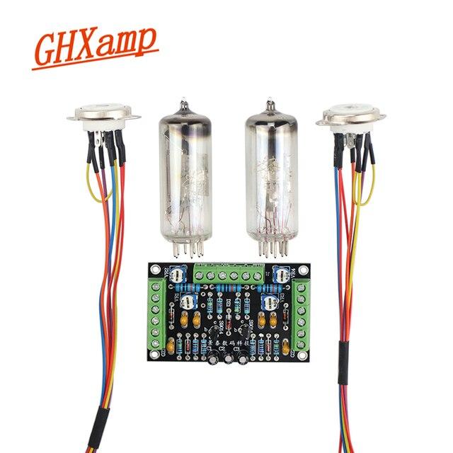 GHXAMP 6E2 kocie oko tube wskaźnik płyta sterownicza zestaw podwójny kanał fluorescencyjny wskaźnik poziomu wzmacniacz napędu DIY modyfikacji