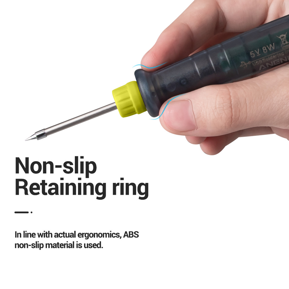 5V 8W USB Powered and Fast Heating Electric Soldering Iron in Pen Style Used as Welding Tool 12