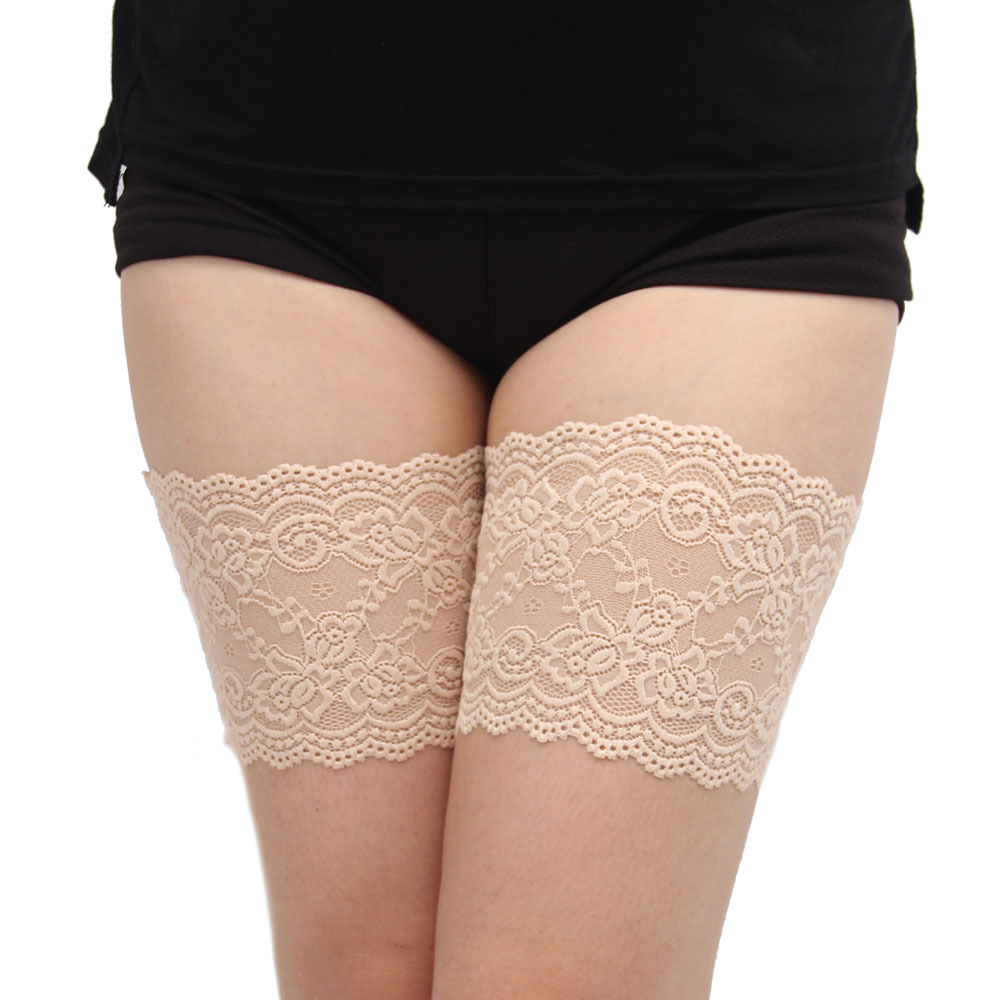 Women's Thigh Bands Anti Chafing None Slip 2 Rows Of Slicones Summer  Leg Warmers 7 Sizes Dropshipping