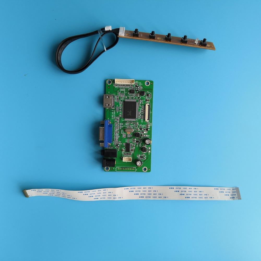 Driver Board Kit LCD EDP Controller Board Display Cable HDMI VGA 30pin For LED LP156WF6(SPM1)/(SPM2) 1920*1080 15.6