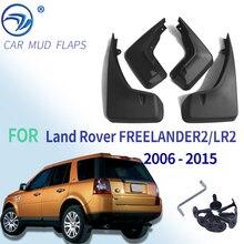 Compatible con LAND ROVER LR2 FREELANDER 2 2006 2015 guardabarros accesorios delanteros traseros 2008 2009 2010 2011
