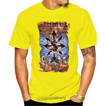 SEPULTURA - 20 Years Chaos AD - T SHIRT S-M-L-XL-2XL Brand New Official T Shirt