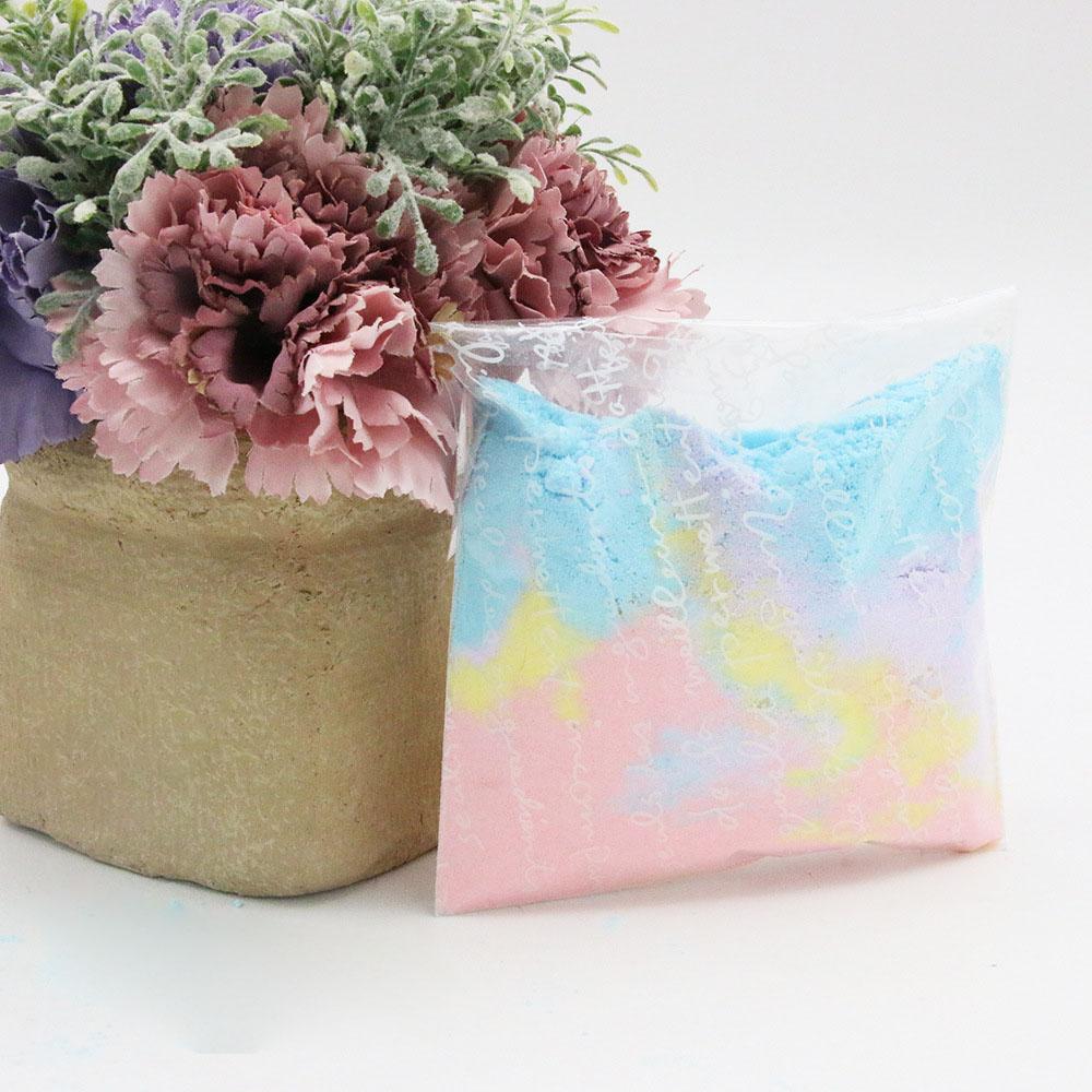 Colourful Bath Salt Powder Multi-bubble Bright Skin Care Exfoliating Explosive Salt SPA Foot Bath Body Bath Salt Powder 100g
