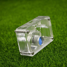 Ant Nest Insect-Supplies Acrylic Mini Castle Plane Pet-Ant Moisturizing 7x4.5x2cm