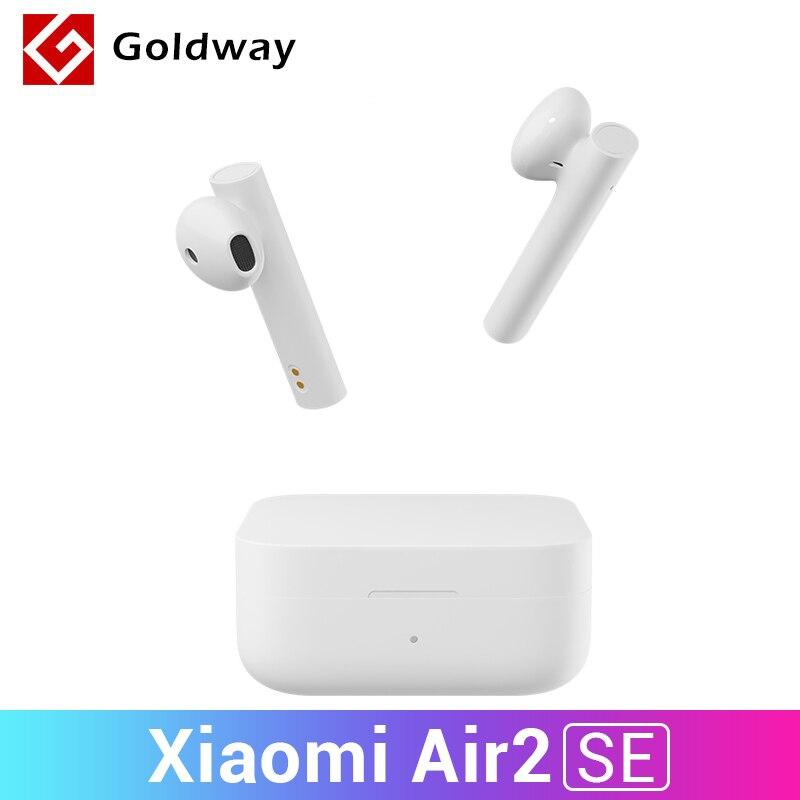 Oryginalny Xiaomi Air2 SE TWS Mi Ture bezprzewodowe słuchawki Bluetooth słuchawki douszne AirDots pro 2 S SBC/AAC sterowanie dotykowe 20 godzin baterii