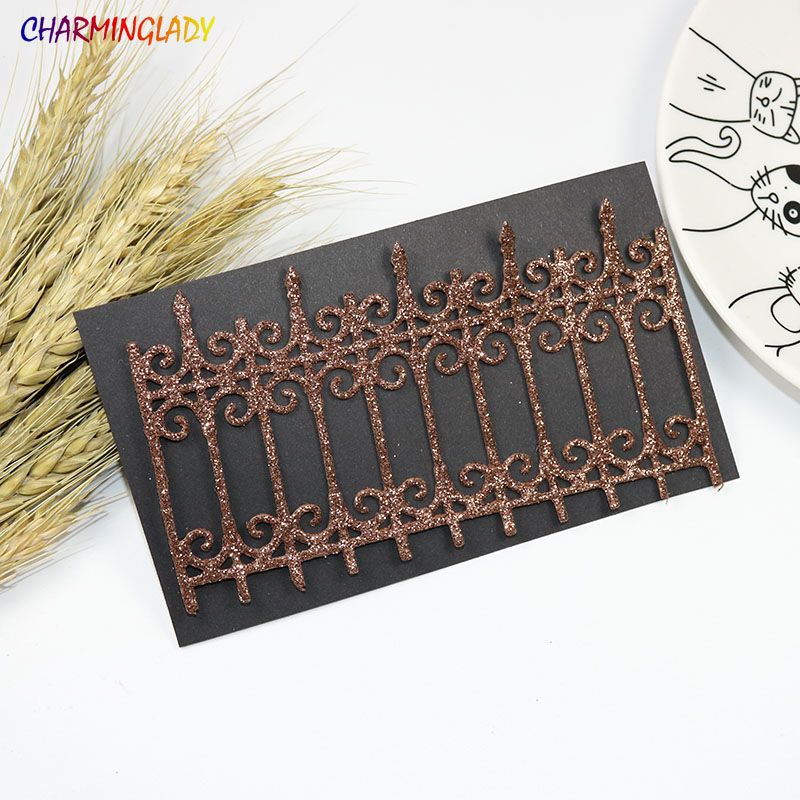 2017 New Metal Cutting Dies Scrapbooking Album PAPER CRAFT Embossing Stencils Template Fence Suit For Cutting Machine