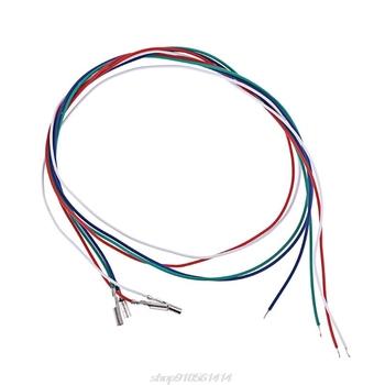 3 4 sztuk uniwersalny wkład Phono przewody kablowe nagłówek przewody do gramofon Phono Headshell JE28 21 Dropshipping tanie i dobre opinie MOCUTE CN (pochodzenie) 33 45 78 obr min NONE plastic+metal 35*7 5cm Cartridge Phono Wires 910561414