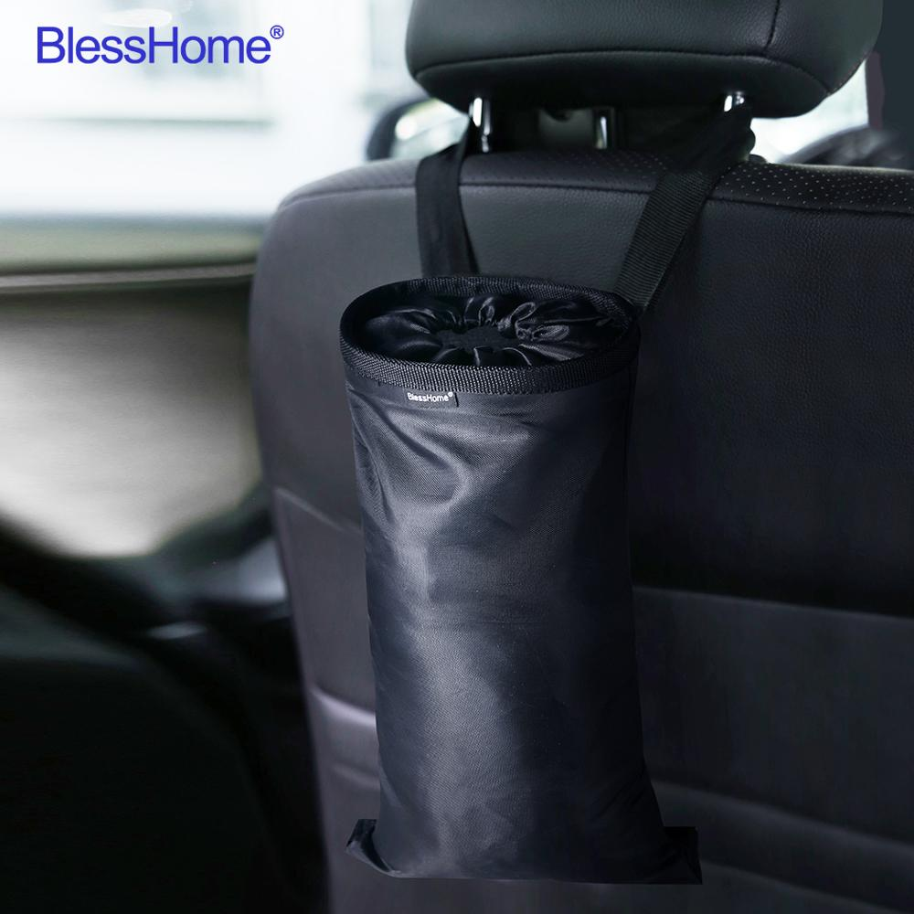 BlessHome® Car Accessories Garbage Bags Car Trash Bag Holding