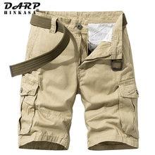 2021 verão novo caqui militar carga shorts homens casuais soltos roupas de marca curta basculante carga shorts