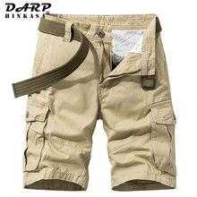 2021 Summer New Khaki Military Cargo Shorts Men Casual Loose Men Short Brand Clothing Jogger Cargo Shorts Men