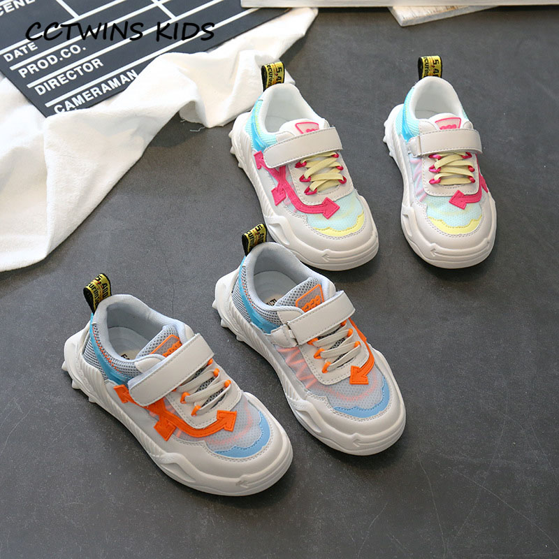 CCTWINS Kids Shoes 2020 Spring Children Breathable Shoes Baby Boys Brand Sport Sneaker Girls Casual Trainers Toddler FC2743