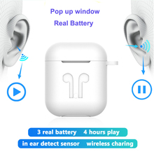 TWS Wireless Earphone For iPhone 11 Pro Max IOS 13 Tap Control Bluetooth 5.0 Ear