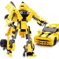 Transformation Robot Serie Building Blocks Starwars Creator Educational Sets Figure Bricks Compatible With Legoe Kids gifts