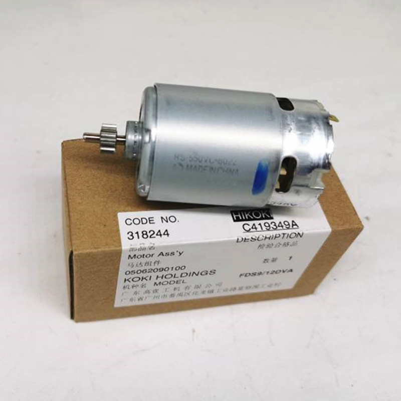 12V 9.6V Motor Genuine Parts 318244 For HITACHI DS12DVF3 FDS12DVA FDS9DVA DS9DVF3 DS12DVFA Motor Cordless Drill Screwdriver