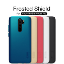 10 pièce/lot pour Xiaomi Redmi Note 8 pro housse de protection NILLKIN coque pour Xiaomi Redmi Note 8 pro Super givré