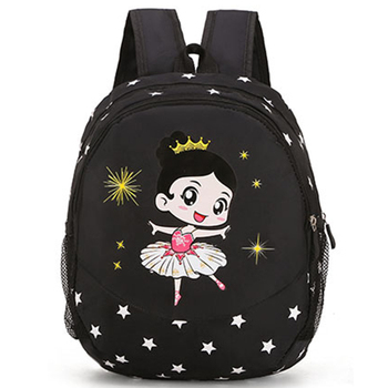 Fashion Pink Child Dance Bag Girls Backpack With Point shoes Printing Cute Girl Ballet - sale item Stage & Dance Wear