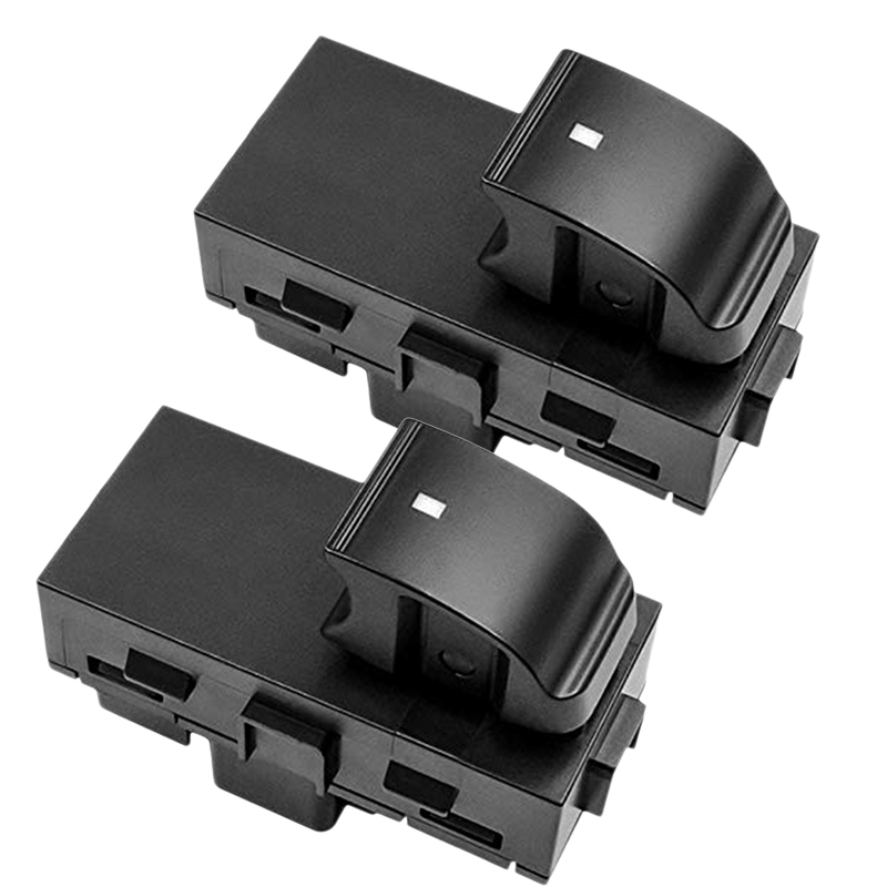 2X Power Window Switches Rear Driver & Passenger L+R Side For Chevy Gmc Yukon Br