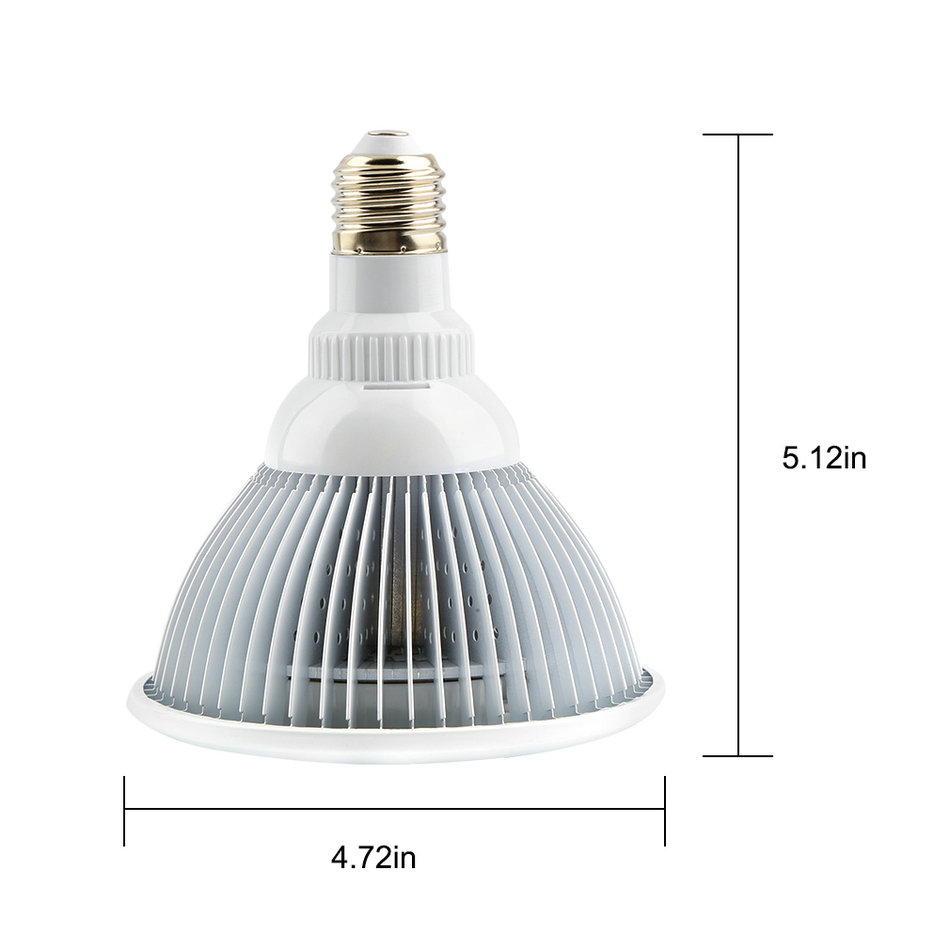 E27 12W LED Plant Lamp Hydroponic Grow Light Bulb For Garden Greenhouse Brand New