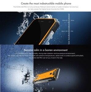 Image 3 - IP68 防水 nomu S50 プロ 4 3g スマートフォン 5.72 アンドロイド 8.1 MTK6763 オクタ · コア 1.5 ghz の 4 ギガバイト 64 ギガバイト 16.0MP 5000 2600mah タイプ c 携帯電話