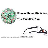 Color Blind Glasses Red&Green Color Blindness Corrective Daltonism Driver's License Restore Normal Vision Gift For Color Blind P