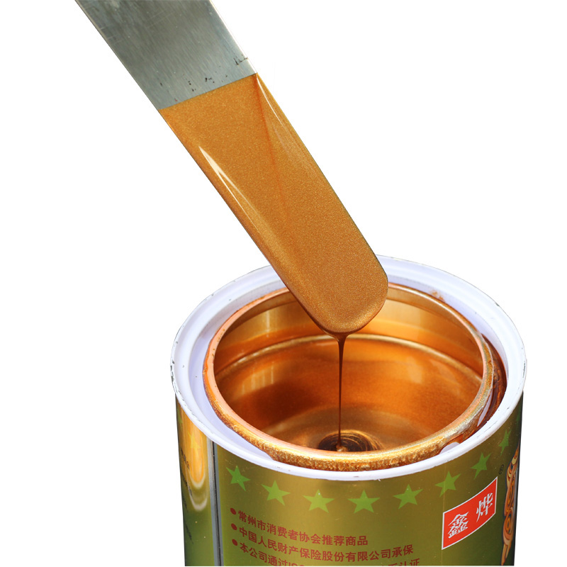 0.3L Oily Craft Paint Red Copper Paint Brushed Black Brass Bronze Rose Gold Paint For Crafts Furniture Statuary Coloring