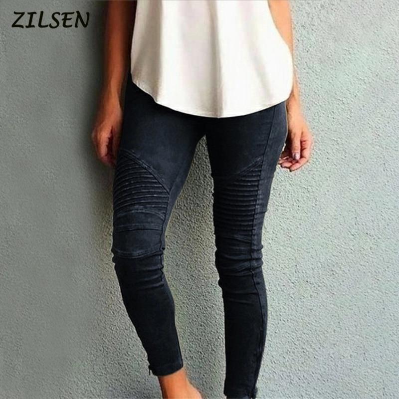 Plus Size Women Trousers High Waist Black Pants For Women High Elastic Skinny Stretch Women Pencil Pants 2019 New
