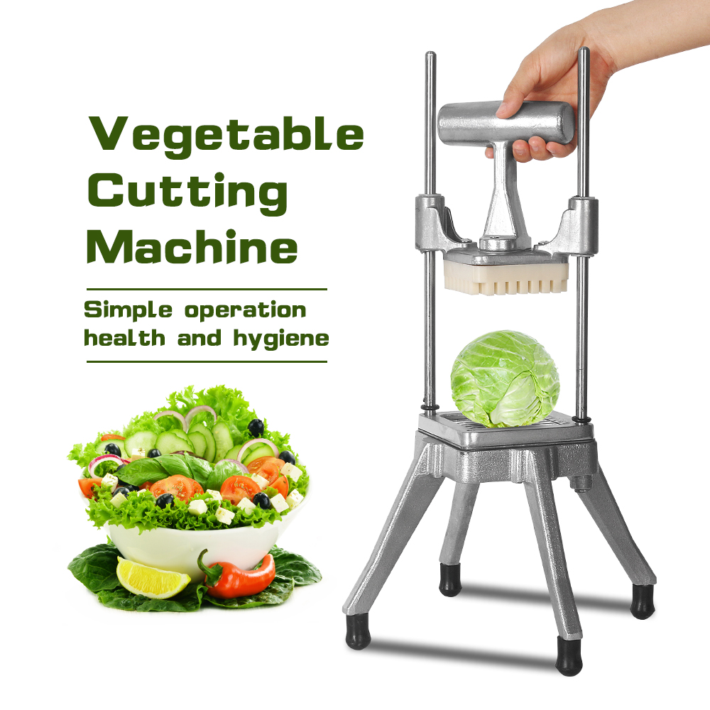Vegetable Cutting Machine AM 08 Small Salad Machine Manual Dicing Maker Potato Cucumber Carrot Fruit Easy Operation|Manual Slicers| |  - title=