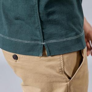 Image 5 - Simwood 2020 Lente Nieuwe Lange Mouw T shirt Mannen 100% Katoen Effen T shirt Plus Size Hoge Kwaliteit Merk Kleding 190130