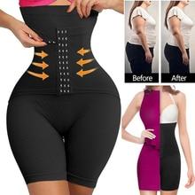 Women Waist Trainer Corset Body Shaper Magic High Waist Control Panties Shorts Girdle Slimming Underwear Tummy Waist Shapewear