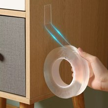 Волшебная лента nano двухсторонняя прозрачная не оставляющая