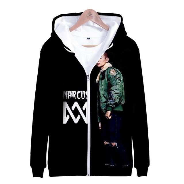 3 To 14 Years Kids Hoodie Marcus and Martinus 3D Hoodies Sweatshirt Boys Girls Fashion Harajuku Jacket Coat Children Clothes 5