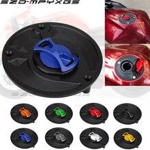 New keyless rotary cap CNC aluminum fuel tank cap for Honda CBR 600 F2 F3 F4 F4i 1991 - 2008 high quality fuel tank cap стоимость