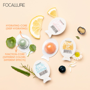 3.8g Small Egg Face Mask Moisturizing Replenishment Firming Brightening Apply Full Face Sleeping Mask Mud Mask Skin Care image