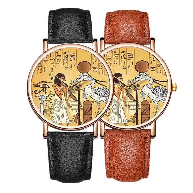 New 2020 Women's Watch Leather Quartz Vintage Design Fashion Wrist Watch Women Causal Clock Relogio Masculino Erkek Kol Saati