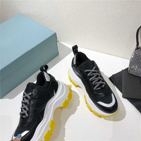 2020 new Hottest high quality luxury Brand Triple Transparent Sole Shoes Dad Sneakers Fashion Men Casual Shoes 35 45