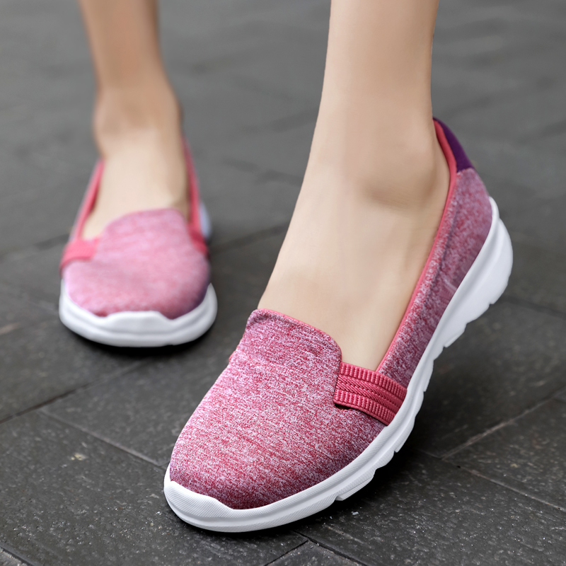 Women Flats Loafers Shoes Woman Comfortable Casual Ladies Shoes Sneakers Women Slip on Ballerina Flats Shoes Zapatillas Mujer