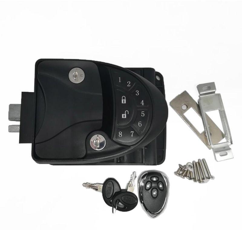 Dual Zinc Alloy RV Remote Entry Door Lock-1