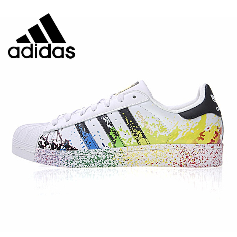 <font><b>Original</b></font> Authentic <font><b>Adidas</b></font> 917 Series Clover Superstar Gold Label Men / Women Skateboarding <font><b>Shoes</b></font> Sneakers Leisure Outdoor D70351 image