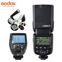 Flash GODOX Ving V850 II 2.4G HSS 2000mAh Li-ion Battery On-camera Speedlite V850II for Canon Nikon Pentax Olympus