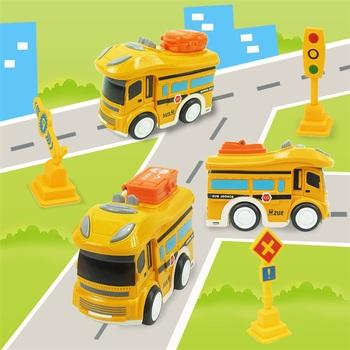 Interaktywne samochody zabawkowe dla dzieci plastikowe samochody zabawkowe dla chłopców model autobusu szkolnego znak klasyczne pojazdy z napędem ciernym GiftW829 tanie i dobre opinie Z tworzywa sztucznego 3 lat Inne School Bus Model The Sign Toys Classic Friction Powered Vehicles Gift 1 18 NOT EARTING!