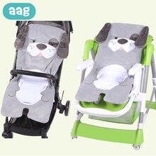 AAG Winter Warm Baby Stroller Pad Mat Pram Case Insert Newborn Cart Seat Cushion Trolley Mattress Liner