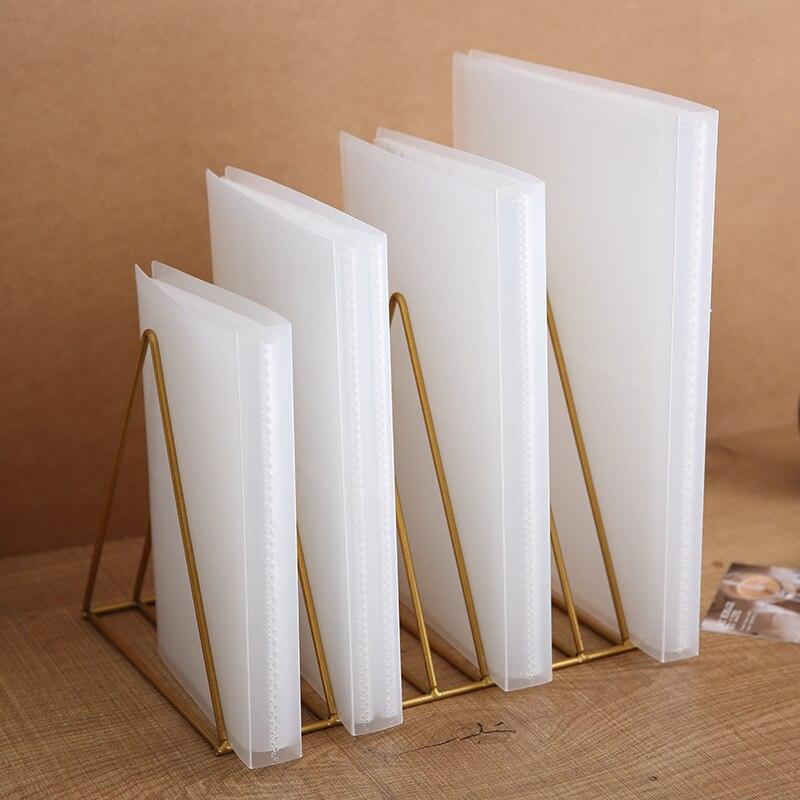 Фотоальбом с матовой прозрачной обложкой, 80 карманов, 5 дюймов, 6 дюймов, 7 дюймов, открытка, фотоальбом